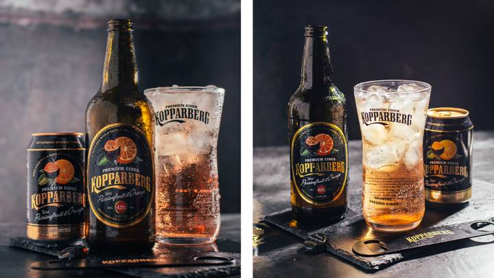 Kopparberg Launches New Passionfruit And Orange Cider