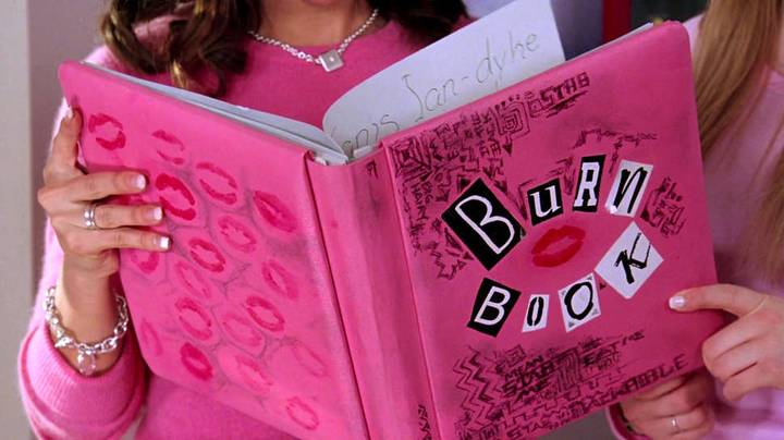 A Mean Girls Burn Cookbook Exists to Feed Your Inner Plastic
