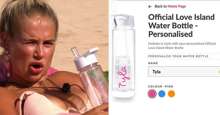 Love Island 2021: You Can Now Get An Official Love Island Water Bottle With Your Name On It