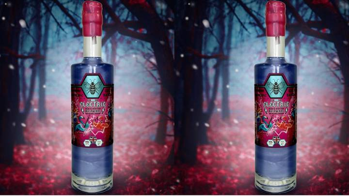 You Can Now Get Shimmery Raspberry Gin That Changes Colour