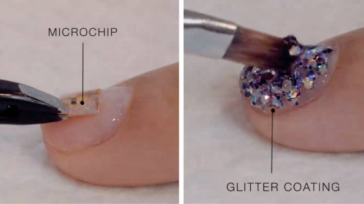 You Can Now Get A Contactless Card Microchip In Your Manicure