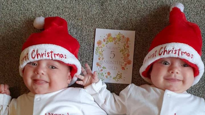 First Twins In UK Born With Covid-19 Recover Just In Time To Go Home For Christmas
