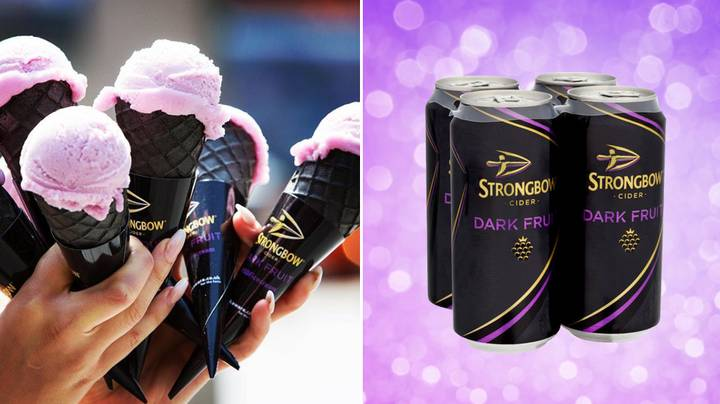 You Can Now Get Strongbow Dark Fruits Ice-Cream To Cool You Down All Summer