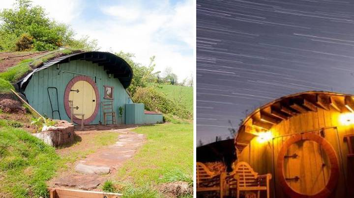 This Four Bedroom Home Comes With Its Very Own Hobbit House In The Back Garden