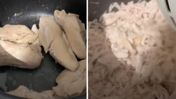This Chicken Shredding Hack Is A Game-Changer