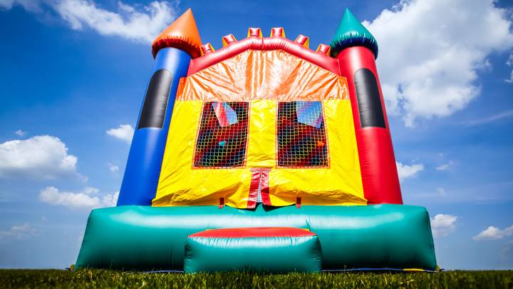 You Can Hire An Adult Bouncy Castle For All The Lockdown Fun