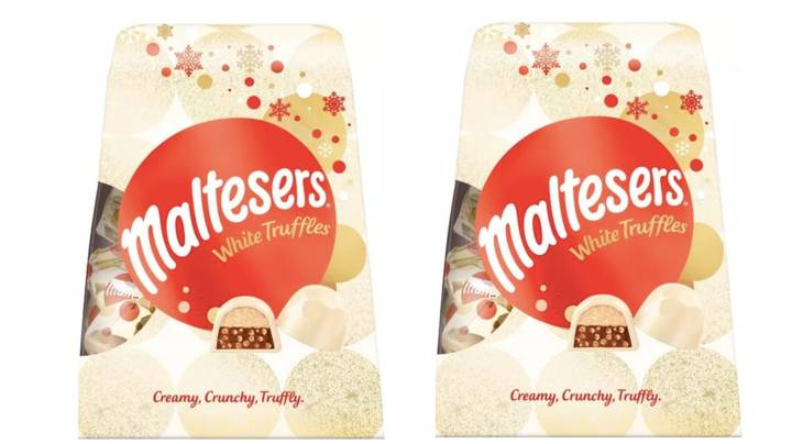 Maltesers Is Bringing Out A White Chocolate Truffle For Christmas