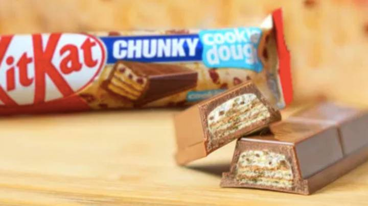 KitKat Chunky Brings Back Cookie Dough And Mint Flavours