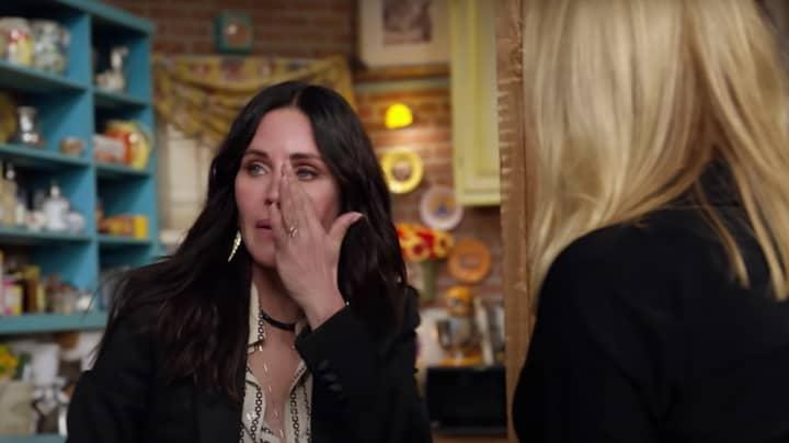 Friends: The Reunion: Friends Cast Break Down In Tears As They Reunite On Set