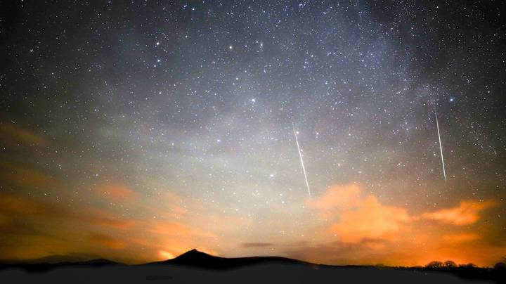 More Than 100 Multi-Coloured Shooting Stars Will Streak Across The Sky This Weekend