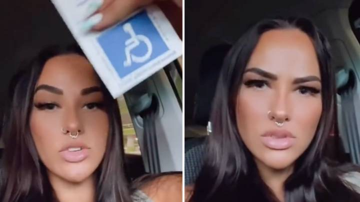 Woman Left Fuming After Being Stereotyped For Parking In Disabled Spot