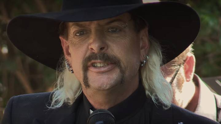 'Tiger King' Star Joe Exotic Reportedly Has A Secret Son - And Grandkids Too