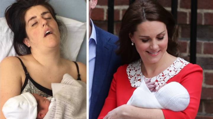 Mums Are Sharing Their Own Post-Partum Looks After Kate Middleton's Glam Appearance