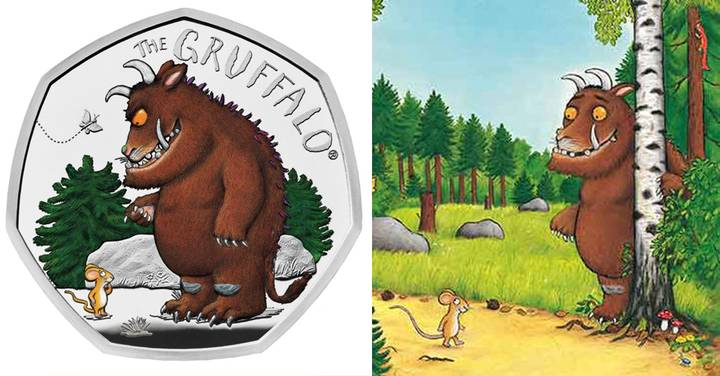 New 'The Gruffalo' 50p Coins Are Being Launched By Royal Mint
