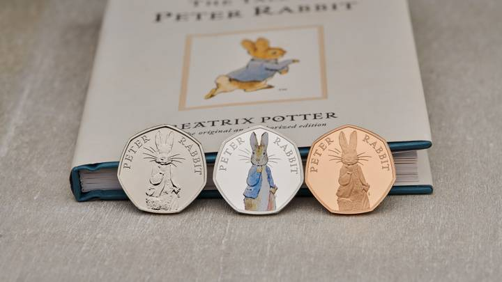 Royal Mint Selling New Peter Rabbit 50p Coins 'Worth Up To £840'