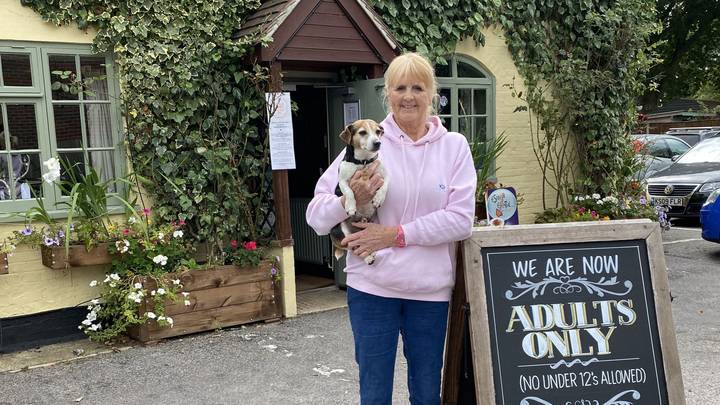 Landlady Sparks Heated Debate After Announcing Pub Will Be 'Adults Only' And Bans Under-12s