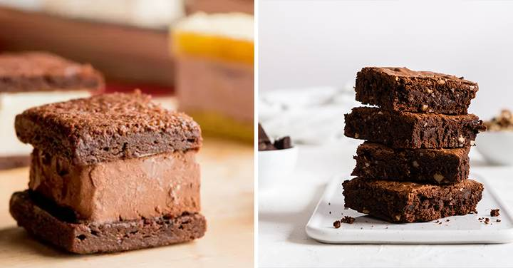 People Are Making Brownie Ice Cream Sandwiches - And They're The Perfect Heatwave Snack