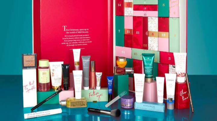 M&S' £35 Beauty Advent Calendar Is Full Of Cult Products