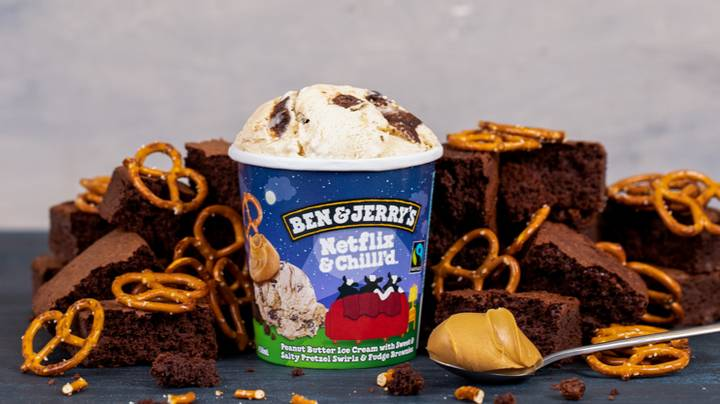 Ben & Jerry's Is Launching A Netflix And Chill'd Flavour And It Sounds Delicious