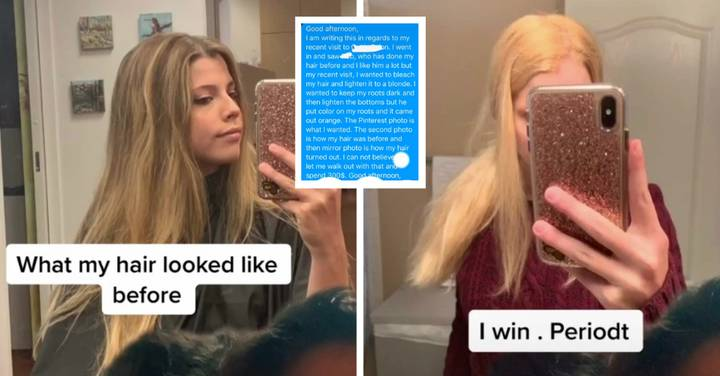 Woman Shows Off Horrific Results After She Asked For 'Blonde Balayage'