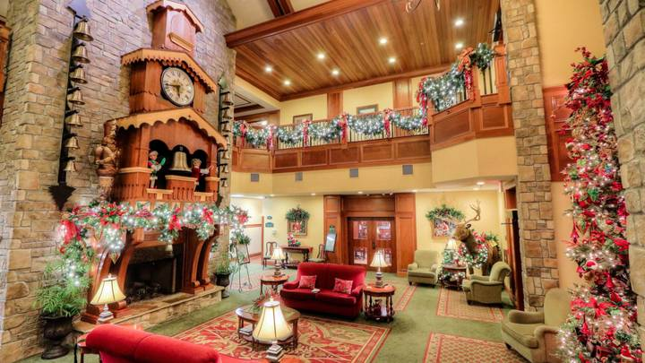 It's Christmas All Year Round At This Hotel And We Need To Go Now
