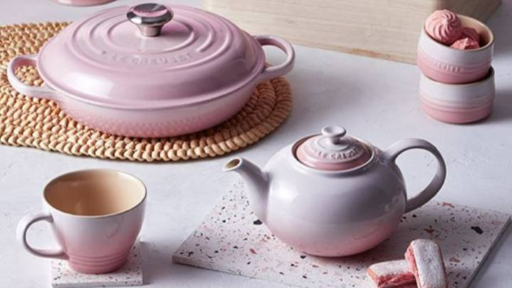Le Creuset Has Launched A Gorgeous Pastel Pink Collection