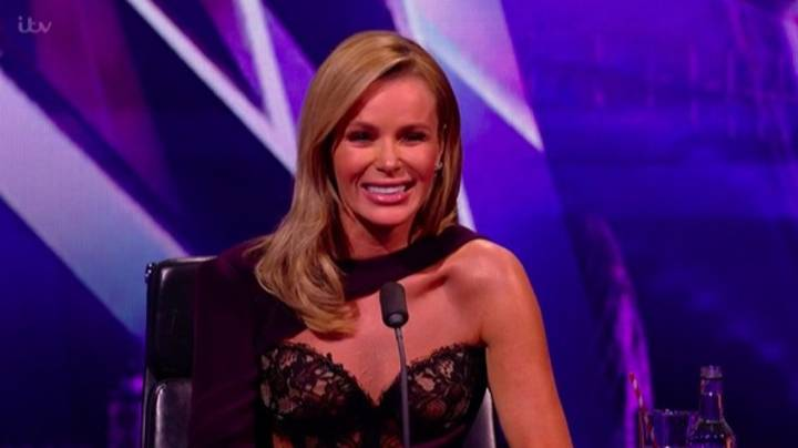 Amanda Holden Sparks Further Complaints With 'See-Through' Dress On 'Britain's Got Talent' Following Nipple Row
