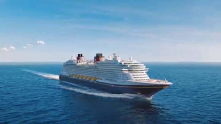 Disney Shares First Look At Its Brand New Cruise Liner, The Disney Wish