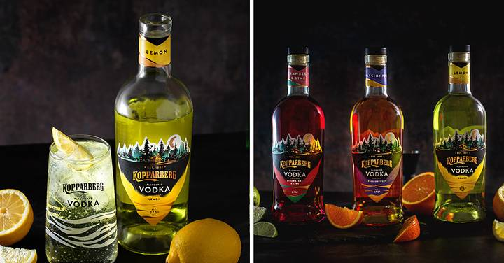 Kopparberg Launches Its First Ever Vodka Range Which Features Strawberry And Passionfruit Flavours