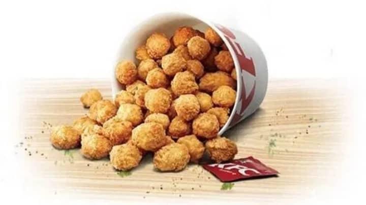 KFC Launches Limited Edition 80-Piece Popcorn Chicken Bucket