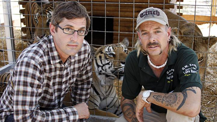 You Can Watch Louis Theroux's Doc On 'Tiger King' Joe Exotic On BBC iPlayer Now