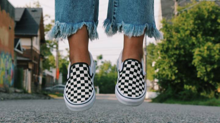People Are Just Discovering Vans Trainers Always Land The Right Way Up