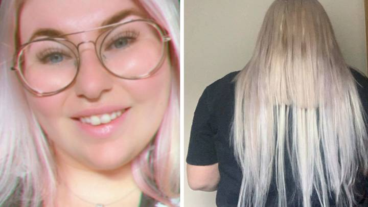 Woman Had To Remove Her 'Botched' £150 Hair Extensions With Pliers