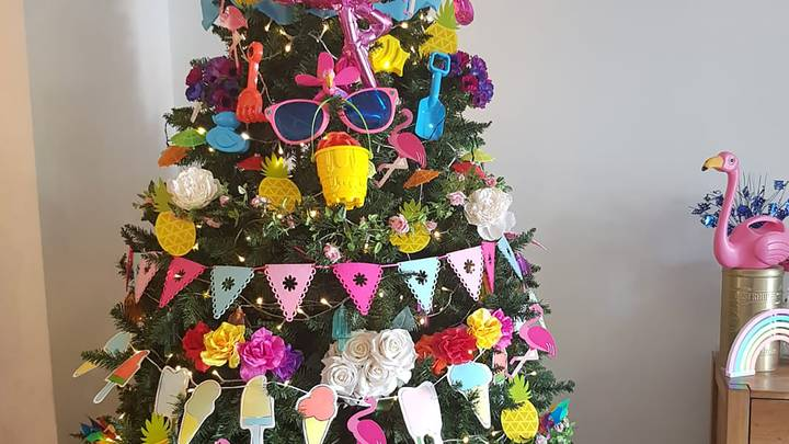 Woman Creates 'Christmas' Trees For Every Occasion