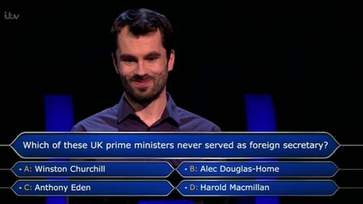 English Teacher Wins £500,000 On 'Who Wants To Be A Millionaire'