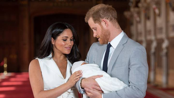 Prince Harry And Meghan Markle Release Adorable Image Of Archie On 2nd Birthday