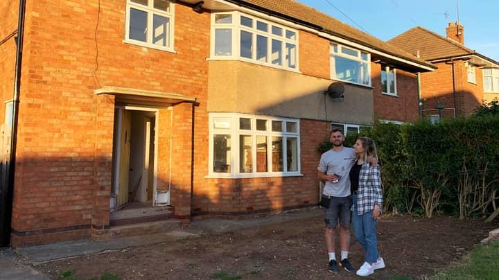 Couple Transform Old Rundown House Into Beautiful Home