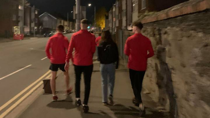 Male Students Spark Debate After Walking Female Friends Home On 'National Rape Day'