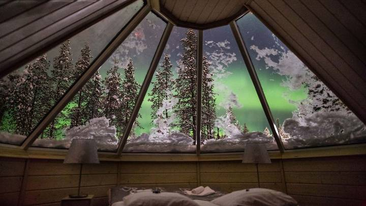 You Can Watch The Northern Lights From Your Bed At This Stunning Lapland Resort