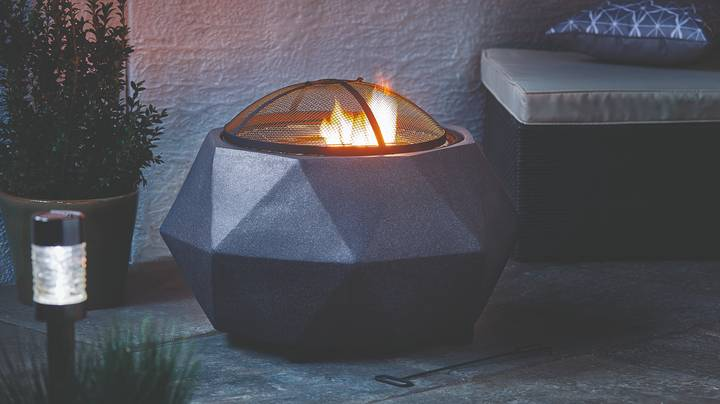 Aldi's Fire Pits And Log Burners Land In Stores Next Week