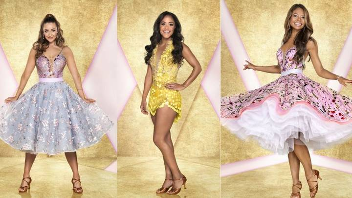 Here's Your First Look At This Year's 'Strictly' Celebrities All Glitzed Up