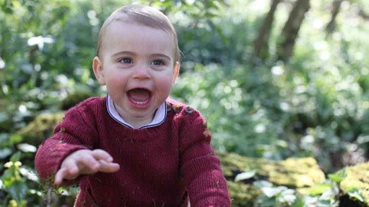 Prince Louis' First Birthday Pictures Are Here And They're Adorable