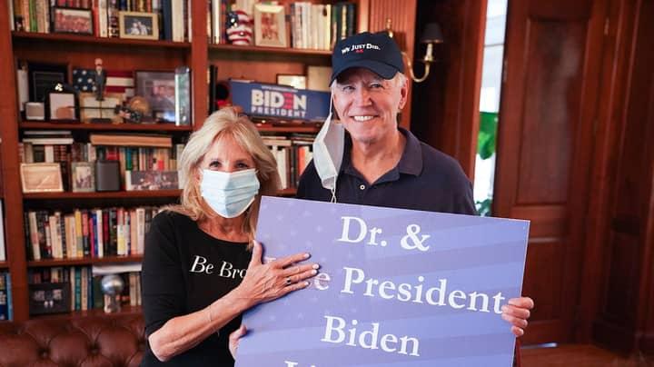 Joe Biden Replaces Trump's MAGA Slogan With His Own Hat