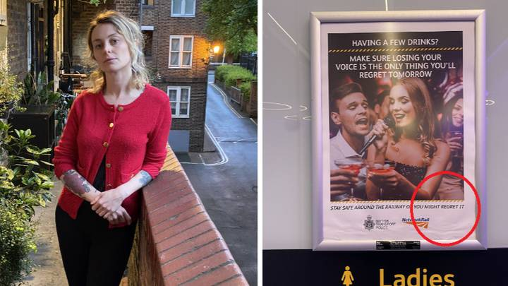 Network Rail Under Fire After Woman Finds 'Slut Shaming Poster' In London Station Toilets