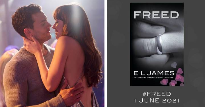 Freed: E.L. James Drops Cover And Release Date For New Fifty Shades Book