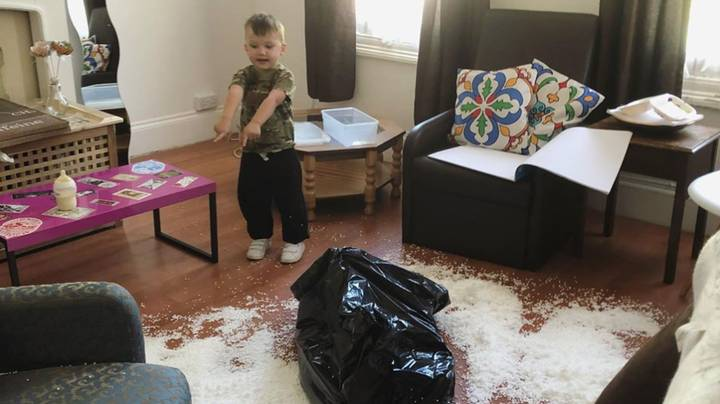 Mum Documents Her Son's Disasters In Hilariously Relatable Snaps