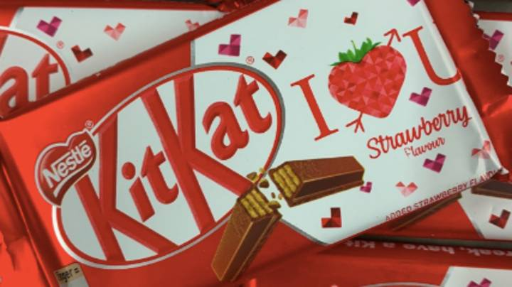 You Can Now Buy KitKat Strawberry Chocolate Bars In The UK