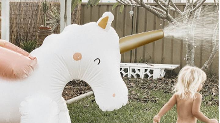 Next Is Selling A Giant Unicorn Sprinkler And It's Such A Bargain