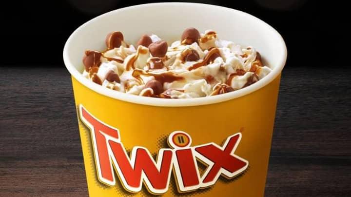 McDonald's Has Brought Back The Twix McFlurry