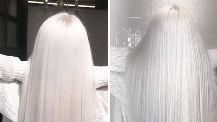 Nordic White Is The Hair Colour Trend Currently Flooding Our Instagram Feeds